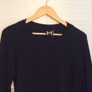 H by Bordeaux tunic sweatshirt